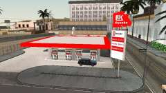 The Lukoil Gas Station for GTA San Andreas