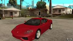 Ferrari 360 Modena for GTA San Andreas