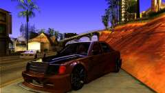 Mercedes Benz 190E - SpeedHunters Edition for GTA San Andreas
