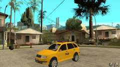 Skoda Fabia Combi Taxi for GTA San Andreas
