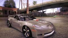 Chevrolet Corvette C6 Z06 Tuning for GTA San Andreas