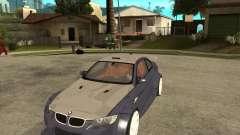 BMW M3 E92 TUNED for GTA San Andreas