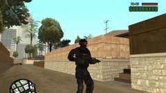 Commando of the SWAT 4 for GTA San Andreas