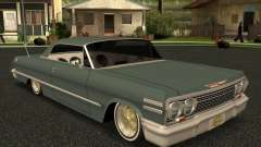 Chevrolet Impala 1963 lowrider for GTA San Andreas
