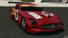 Mercedes-Benz SLS AMG GT3 2011 v1.0 for GTA 4