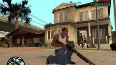 Chromegun HD for GTA San Andreas