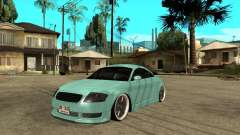 Audi TT turquoise for GTA San Andreas