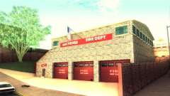 A new firehouse in San Fierro