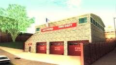 A new firehouse in San Fierro
