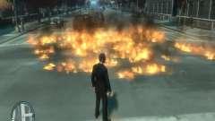 Intense Fire Mod for GTA 4
