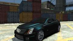 Cadillac CTS-V Coupe 2011 v.2.0 for GTA 4