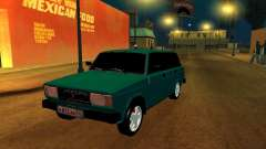 VAZ 2104 turquoise for GTA San Andreas