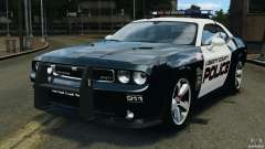 Dodge Challenger SRT8 392 2012 Police [ELS][EPM] for GTA 4