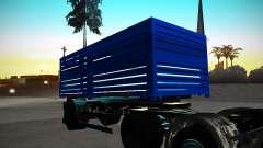 Kamaz 65117 Grain trailer