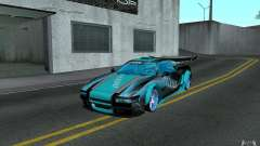 Baby blue Infernus for GTA San Andreas