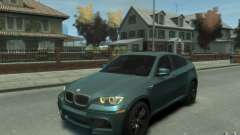 BMW X6-M 2010 for GTA 4