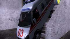 Gazelle 2705 ambulance for GTA San Andreas