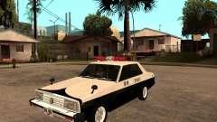 Nissan Skyline 2000 GT Police for GTA San Andreas