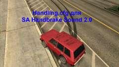 Handling.cfg for SA Handbrake Sound 2.0
