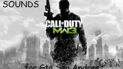 Weapon Sound of CoD MW3
