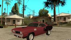 Plymouth Cuda 426 for GTA San Andreas