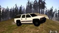 Chevrolet Suburban белый for GTA San Andreas