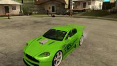 Aston Martin Vantage V8 - Green SHARK TUNING! for GTA San Andreas
