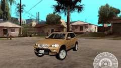 BMW X5 E70 for GTA San Andreas