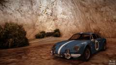 Renault Alpine A110 1600S Rally