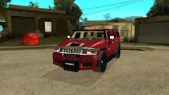 Hummer H2 Tuning for GTA San Andreas