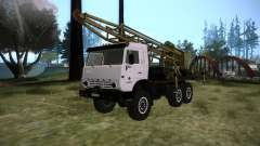 KAMAZ 43118 rig for GTA San Andreas