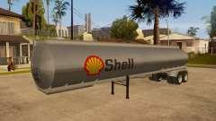 Semitrailer tank