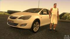 Opel Astra 2010 for GTA San Andreas