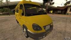 Gazelle 32213 Novosibirsk minibus