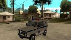 UAZ 31514 patrol
