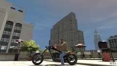 The Lost & Damned Bikes Diabolus for GTA 4