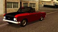 Moskvich 412 Cabrio for GTA San Andreas