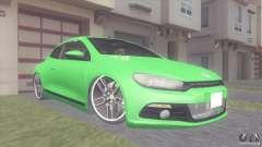 Volkswagen Scirocco turquoise for GTA San Andreas