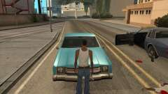 Drivers get out of the car for GTA San Andreas