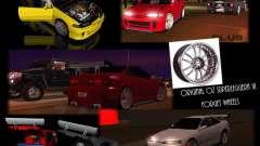 Honda Integra TUNING for GTA San Andreas