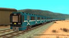 Metro type 81-717 for GTA San Andreas