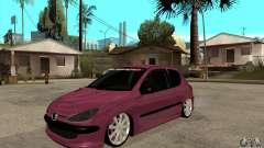 Peugeot 206 Suspen AR