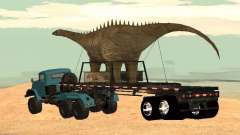 Dinosaur Trailer for GTA San Andreas