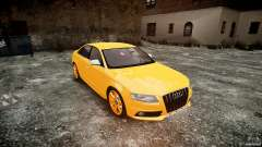 Audi S4 2010 Oliva for GTA 4