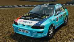 Subaru Impreza WRX STI 1995 Rally version