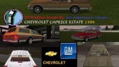 Chevrolet Caprice Estate 1986 for GTA Vice City