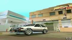 Toyota Trueno AE86 4type for GTA Vice City