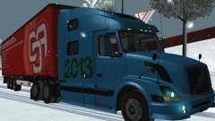 Volvo VNL 670 trailer