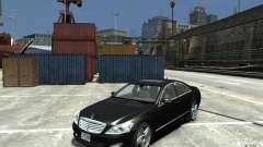 Mercedes-Benz S Class W221 for GTA 4