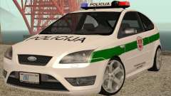 Ford Focus ST Policija for GTA San Andreas
